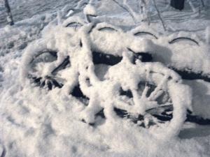 fahrrad im schneehgppahl2010 Kopie
